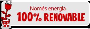 Energía 100% renovable