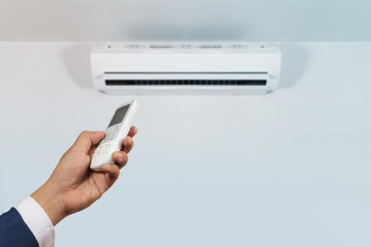 Equipo de acondicionamiento de aire.
