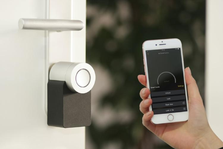 Cerraduras inteligentes para el hogar.