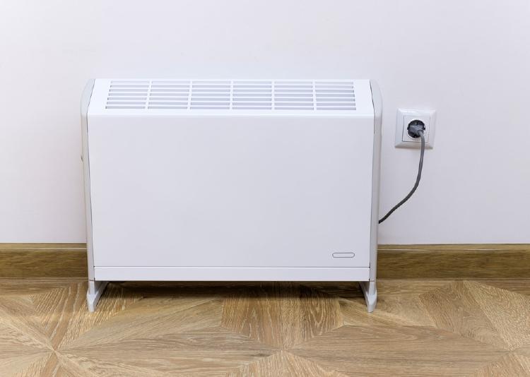 Radiador eléctrico de bajo consumo.