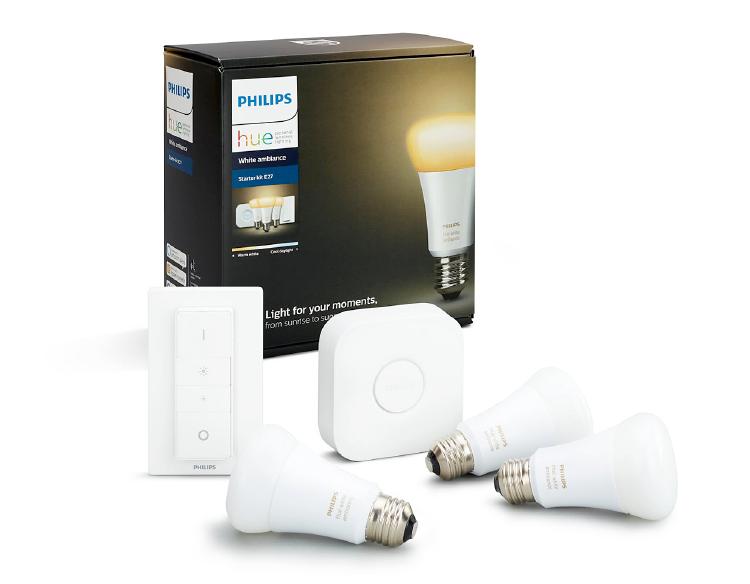 Pack de inicio de luces inteligentes.