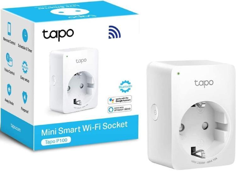 Enchufe inteligente con conexión wifi.